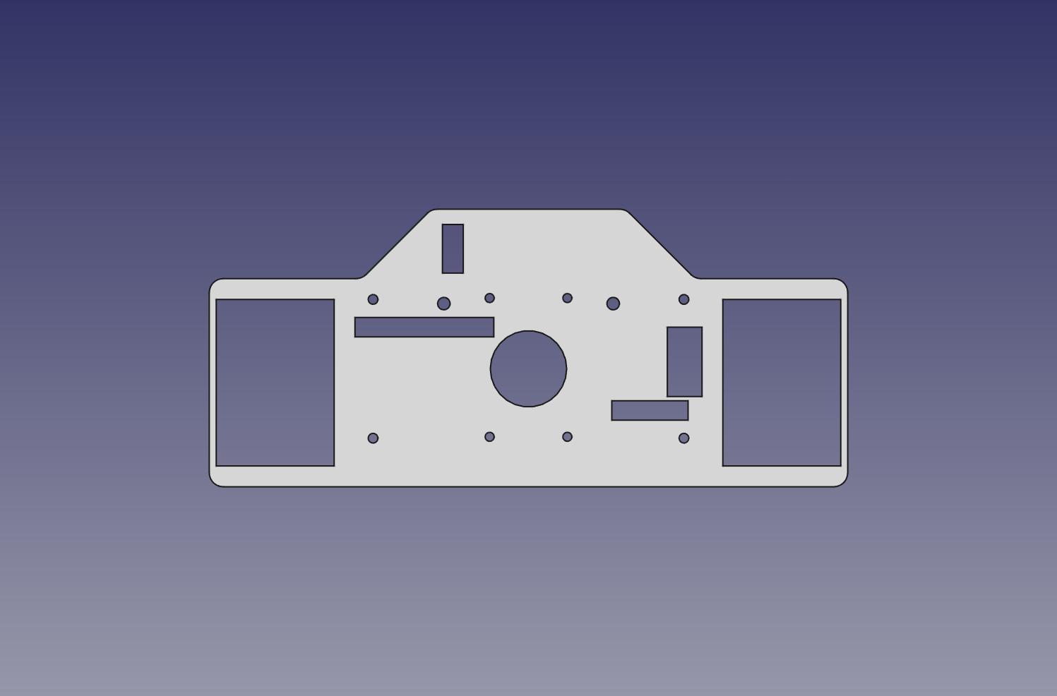 Renncockpit 08 – Instrumentenbrett begonnen